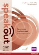 Duffy, Matthew, Parsons, Jenny, Alexander, Karen - Speakout Elementary: Teacher's Guide with Resource & Assessment Disc Pack - 9781292120140 - V9781292120140