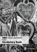 - Stimmt! AQA GCSE German Higher Vocab Book Pack - 9781292133430 - V9781292133430