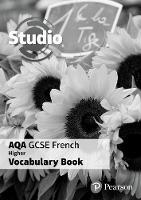 Angela Stanley - Studio AQA GCSE French Higher Vocab Book Pack - 9781292133454 - V9781292133454