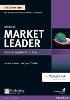 O'Keeffe, Margaret - Market Leader Extra Advanced Coursebook and MyEnglishLab Pin Pack - 9781292134734 - V9781292134734