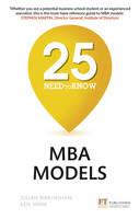Birkinshaw, Julian, Mark, Ken - 25 Need-to-Know MBA Models - 9781292178899 - V9781292178899