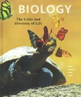 Starr, Cecie, Taggart, Ralph, Evers, Christine, Starr, Lisa - Biology: The Unity and Diversity of Life - 9781305073951 - V9781305073951