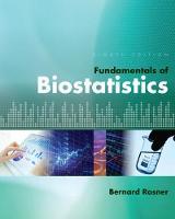 Rosner, Bernard (Harvard University - Fundamentals of Biostatistics - 9781305268920 - V9781305268920