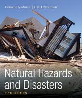 Hyndman, Donald, Hyndman, David - Natural Hazards and Disasters - 9781305581692 - V9781305581692