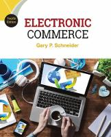 Schneider, Gary - Electronic Commerce - 9781305867819 - V9781305867819