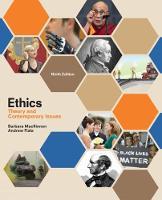 MacKinnon, Barbara, Fiala, Andrew - Ethics: Theory and Contemporary Issues - 9781305958678 - V9781305958678