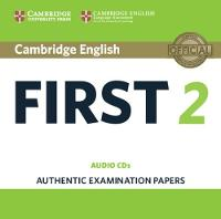 , - Cambridge English First 2 Audio CDs (2): Authentic Examination Papers (FCE Practice Tests) - 9781316503546 - V9781316503546