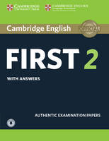 Not Available - Cambridge English First 2 Student's Book with Answers and Audio: Authentic Examination Papers (FCE Practice Tests) - 9781316503560 - V9781316503560