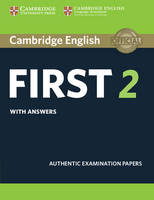 , - Cambridge English First 2 Student's Book with answers: Authentic Examination Papers (FCE Practice Tests) - 9781316503577 - V9781316503577