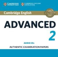 , - Cambridge English Advanced 2 Audio CDs (2): Authentic Examination Papers (CAE Practice Tests) - 9781316504482 - V9781316504482