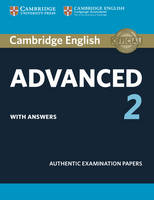 , - Cambridge English Advanced 2 Student's Book with answers: Authentic Examination Papers (CAE Practice Tests) - 9781316504505 - V9781316504505