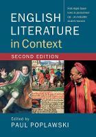 - English Literature in Context - 9781316506639 - V9781316506639