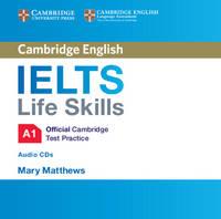, - IELTS Life Skills Official Cambridge Test Practice A1 Audio CD - 9781316507117 - V9781316507117