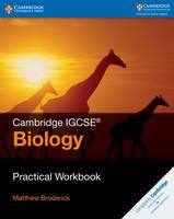 Broderick, Matthew - Cambridge IGCSE® Biology Practical Workbook (Cambridge International IGCSE) - 9781316611036 - V9781316611036