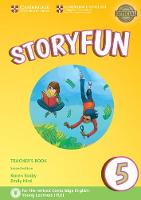 Saxby, Karen, Hird, Emily - Storyfun 5 Teacher's Book with Audio - 9781316617274 - V9781316617274