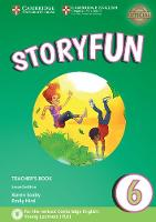 Saxby, Karen, Hird, Emily - Storyfun 6 Teacher's Book with Audio - 9781316617298 - V9781316617298