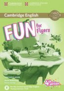 Robinson, Anne, Saxby, Karen - Fun for Flyers Teacher's Book with Downloadable Audio - 9781316617601 - V9781316617601