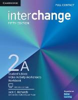 Richards, Jack C. - Interchange Level 2A Full Contact with Online Self-Study - 9781316624005 - V9781316624005