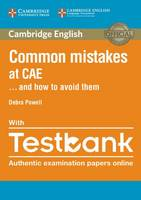 Powell, Debra - Common Mistakes at CAE... and How to Avoid Them Paperback with Testbank - 9781316629321 - V9781316629321