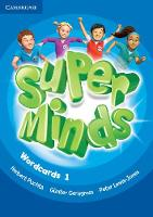 Puchta, Herbert, Gerngross, Günter, Lewis-Jones, Peter - Super Minds Level 1 Wordcards (Pack of 90) - 9781316631614 - V9781316631614