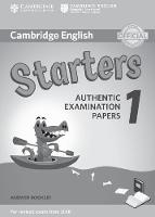 Authentic Examination Papers - Cambridge English Starters 1 for Revised Exam from 2018 Answer Booklet: Authentic Examination Papers - 9781316635933 - V9781316635933