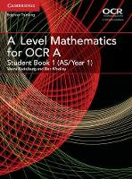 Kadelburg, Vesna, Woolley, Ben - A Level Mathematics for OCR A Student Book 1 (AS/Year 1) (AS/A Level Mathematics for OCR) - 9781316644287 - V9781316644287