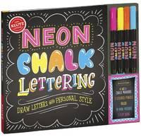 - KLUTZ Neon Chalk Lettering Toy - 9781338037548 - KAK0013088