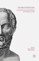 - Thucydides and Political Order: Lessons of Governance and the History of the Peloponnesian War - 9781349578993 - V9781349578993