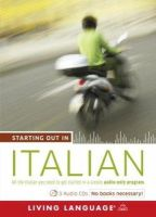 Living Language - Starting Out in Italian - 9781400024643 - 9781400024643