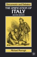 Morrogh, Michael - The Unification of Italy - 9781403900661 - V9781403900661