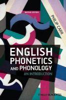Carr, Philip - English Phonetics and Phonology - 9781405134545 - V9781405134545