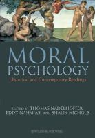 - Moral Psychology: Historical and Contemporary Readings - 9781405190190 - V9781405190190