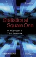 Campbell, Michael J. - Statistics at Square One - 9781405191005 - V9781405191005