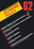 - Economic Policy 62: Financial Crisis Issue - 9781405197007 - V9781405197007