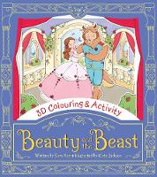 Hay, Sam - Beauty and the Beast (3D Colouring & Activity) - 9781405281607 - KRA0013706