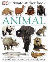 *              - Ultimate Animal Sticker Book - 9781405304450 - V9781405304450