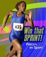 Royston, Angela - Win That Sprint: Forces in Sport (Infosearch: Feel the Force) - 9781406296464 - V9781406296464