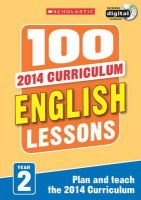 Snashall, Sarah; Dowson, Pam; Evans, Jean - 100 English Lessons: Year 2 - 9781407127606 - V9781407127606