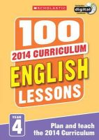 Dowson, Pam - 100 English Lessons: Year 4 - 9781407127620 - V9781407127620