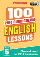 Howell, Gillian - 100 English Lessons: Year 6 - 9781407127644 - V9781407127644