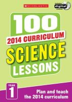 Ravenscroft, Gillian - 100 Science Lessons: Year 1 - 9781407127651 - V9781407127651