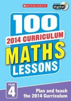 Koll, Hilary; Mills, Steve - 100 Maths Lessons: Year 4 - 9781407127743 - V9781407127743
