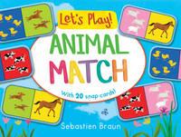 Braun, Sebastien - Let's Play! Animal Match - 9781407158068 - V9781407158068