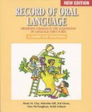 Marie M. Clay - Record of Oral Language (Marie Clay) - 9781407160023 - V9781407160023