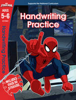 Scholastic - Spider-Man: Handwriting Practice, Ages 5-6 (Marvel Learning) - 9781407171654 - KSG0015684