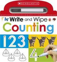 Make Believe Ideas - Write and Wipe: Counting (Scholastic Early Learners) - 9781407172453 - V9781407172453