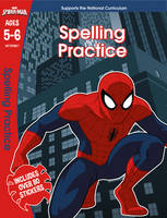 Scholastic - Spider-Man: Spelling Practice, Ages 5-6 (Marvel Learning) - 9781407172637 - 9781407172637