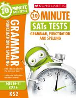 Clare, Giles - Grammar, Punctuation and Spelling - Year 6 (10 Minute SATS Tests) - 9781407176079 - V9781407176079