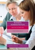 Vella, Carole - MTHS AND ENGLSH FOR BUS ADMIN - 9781408083093 - V9781408083093