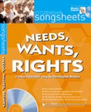 Hussey, Christopher - Needs, Wants and Rights (Songsheets) - 9781408104408 - V9781408104408